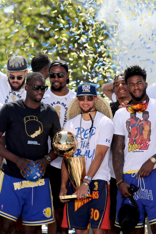 Warriors parade: Bay Area parties with back-to-back champs