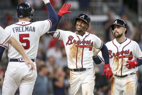 Final Score: Braves 8, Mets 2-That escalated quickly