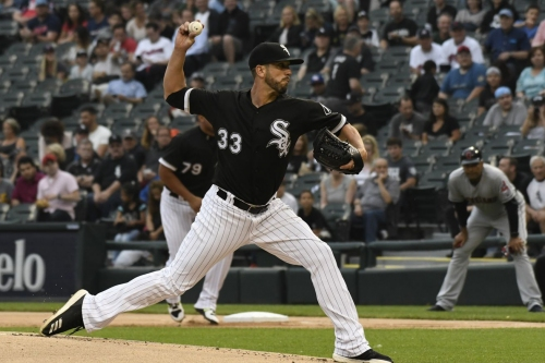 White Sox beat Indians 5-1; Shields stymies Indians' offense