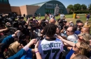 Everything Michael Bennett had to say in his first Eagles media availability since March