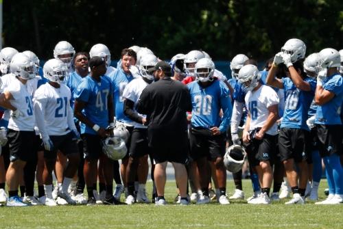 Detroit Lions training camp opens 12 practices to public