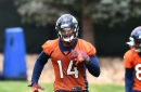 Case Keenum has high praise for the Broncos rookie wide receivers
