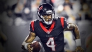 Texans QB Deshaun Watson practices without knee brace