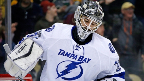 Kings acquire Budaj from Lightning for Andreoff
