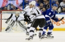 Lightning trades Peter Budaj to Kings, acquires forward Andy Andreoff