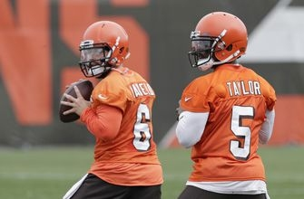 Practicing patience: Browns' Mayfield waits turn as backup