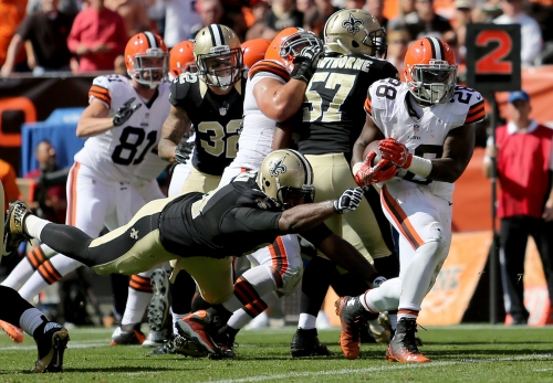 Running back Terrance West to sign with Saints: report