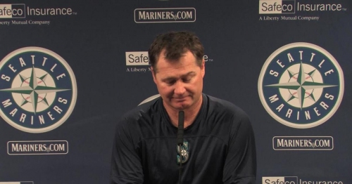 Watch: Mariners manager Scott Servais: 'If you don't enjoy and connect with our club right here, you just don't like baseball'