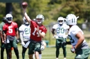 Sam Darnold and the defense look good; Teddy Bridgewater struggles during intense Jets minicamp practice