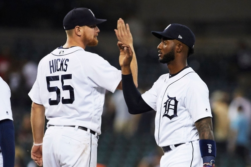 Minus Miguel Cabrera, Detroit Tigers step up in 5-2 win over Twins