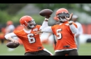 Cleveland Browns Scribbles: Why Tyrod Taylor is ahead of Baker Mayfield -- Terry Pluto