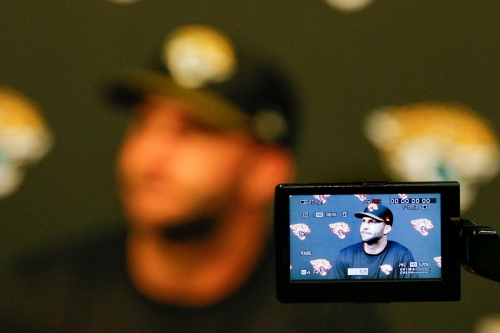Hackett happy with where Bortles is at