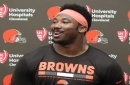 Myles Garrett blasts Kevin Durant for riding 'somebody's coat tails to get a W'