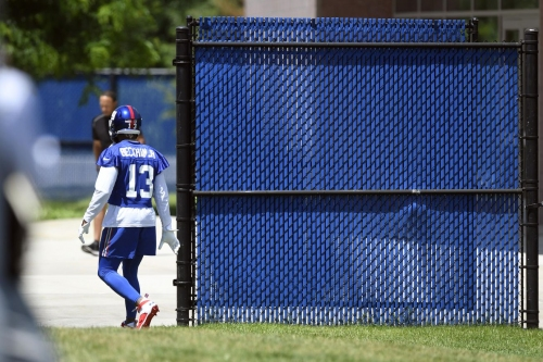 Giants training camp will begin July 25