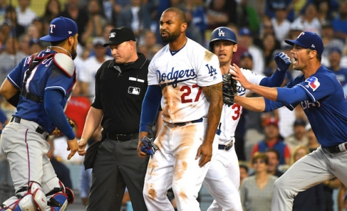 Dodgers News: Matt Kemp Feared Injury In Collision With Rangers' Robinson Chirinos