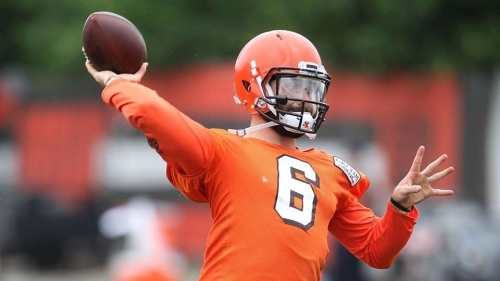 Browns QB Baker Mayfield says he will 'be the best backup possible'