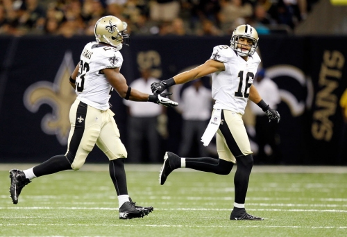 How Pierre Thomas, Lance Moore made it together as Saints Hall of Famers