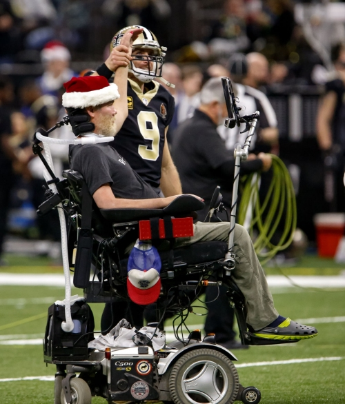 Steve Gleason unanimously endorsed for Congressional Gold Meal by U.S. Senate