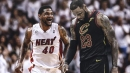 Heat news: Udonis Haslem may recruit LeBron James if asked