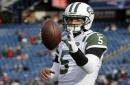 New England Patriots bring in ex-Jet quarterback Christian Hackenberg for a visit