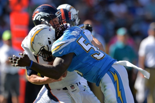 Chargers EDGE Duo Leaves Little Time for Opposing QBs, via PFF