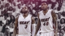 Udonis Haslem hopes he, Dwyane Wade can make decision on next season together