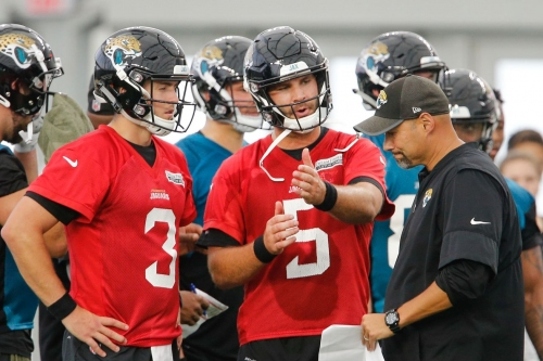 Marrone on Blake Bortles: 'We are ahead of where we should be'