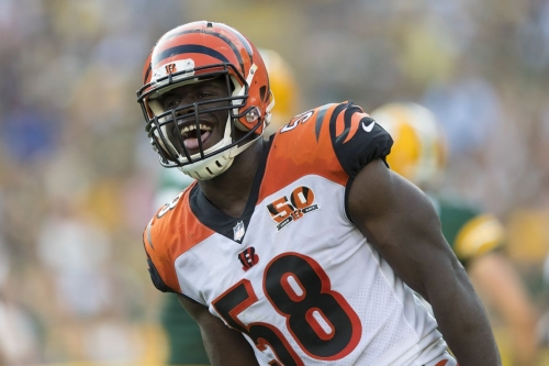 Carl Lawson looking to beat Carlos Dunlap's Bengals sack record with some lofty goals