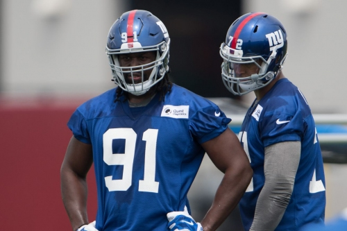 Giants news, 6/15: Avery Moss, R.J. McIntosh dealing with injuries