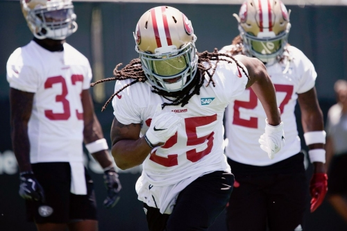 Richard Sherman gives an update on his progress at minicamp
