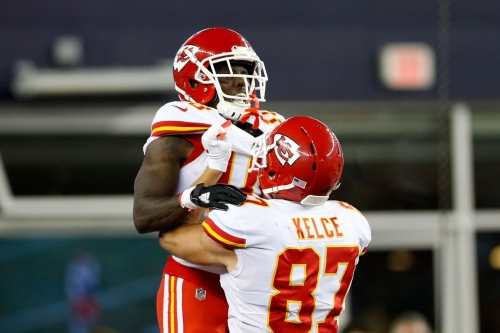 Travis Kelce: Here's what Tyreek Hill and Sammy Watkins can do for everyone else