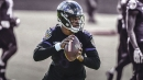 Ravens QB Lamar Jackson gets chance to run first team