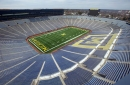 Michigan Stadium end zones going blue for first time in program history