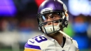 Vikings HC Mike Zimmer says Adam Thielen is talking a little more in practice