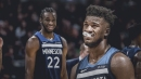Timberwolves rumors: Jimmy Butler not a fan of playing with Andrew Wiggins