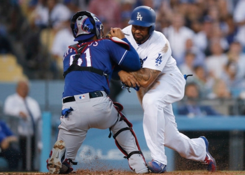 Dodgers News: Matt Kemp Suspended 1 Game For Incident With Rangers Catcher Robinson Chirinos