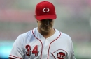 Cincinnati Reds pitcher Homer Bailey scratched from next rehab start with knee injury