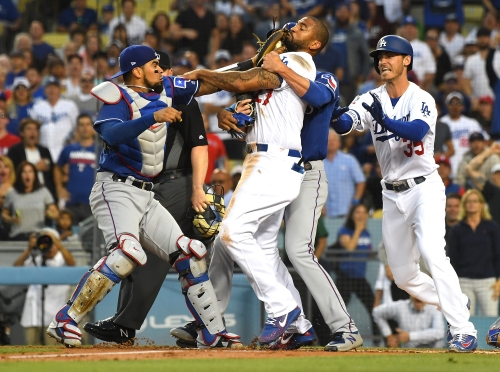 Matt Kemp suspended one game for shove-fest, is appealing the discipline