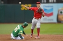 Angels pummel error-prone A's as A.L. West woes continue