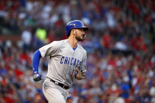 Bryant emerges as Cubs hang 13 runs on Cardinals