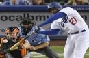 Hernandez, Kemp homer in Dodgers' 3-2 win over Giants