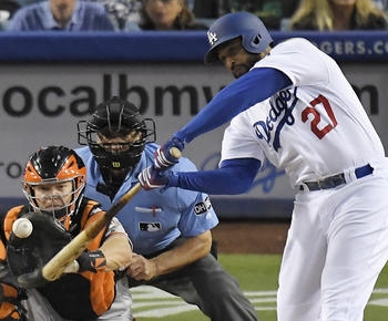 Hernandez, Kemp homer in Dodgers' 3-2 win over Giants