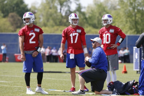 Bills QB competition dominating early conversation, headlines