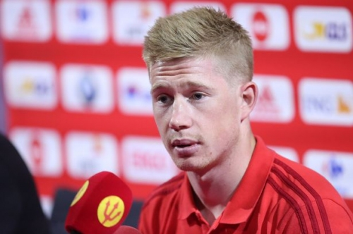 Kevin De Bruyne praised by Belgium manager for Adnan Januzaj tackle