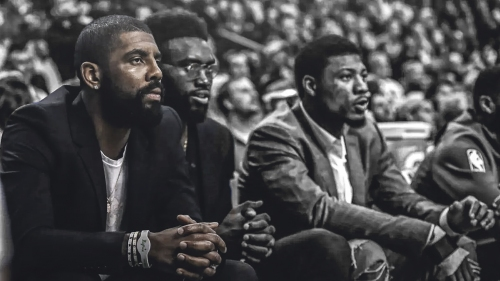 Kyrie Irving looks back on how tough it was to sit out entire playoffs