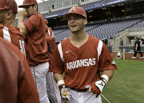 2018 College World Series: Boston Red Sox players Andrew Benintendi, Mitch Moreland have rooting interest in tournament