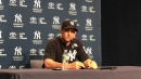 Yankees' Aaron Boone on Luis Severino's dominance over Tampa Bay Rays