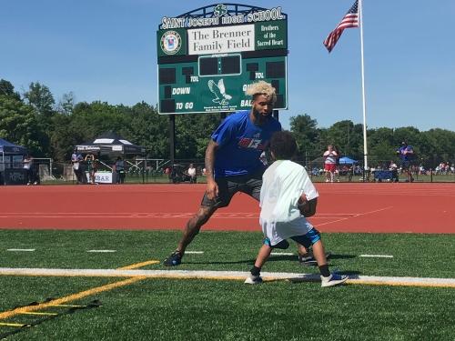 Odell Beckham Jr. hosts third annual youth football camp
