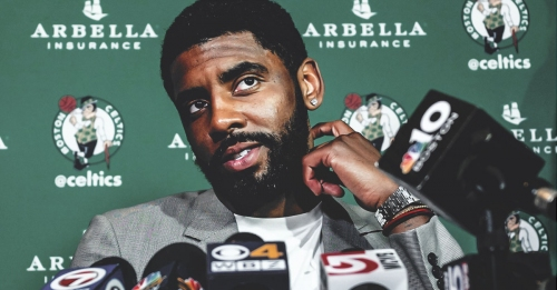 Kyrie Irving claims he didn't have leverage when asking for trade from Cavs