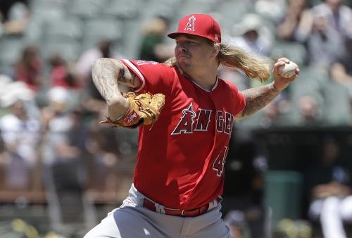John Lamb's return to majors spoiled by bullpen in Angels' loss